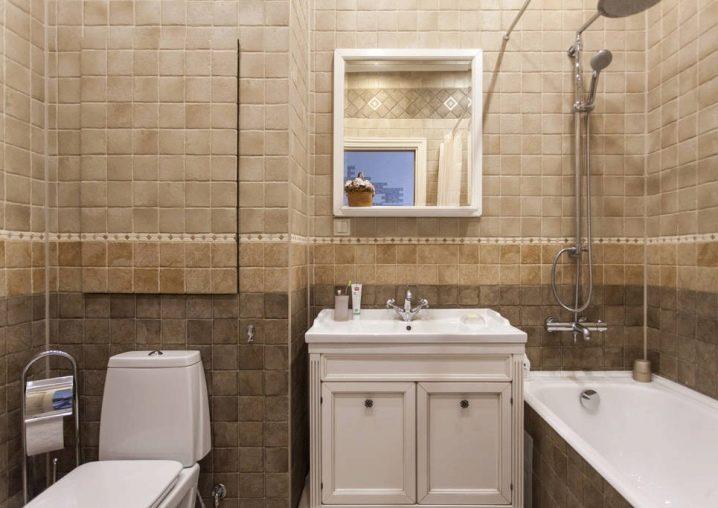 Lựa chọn bố cục cho phòng tắm 4m2