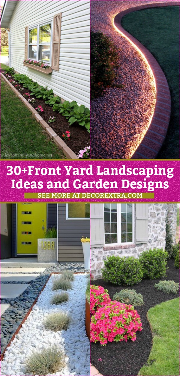 amazing diy front yard landscaping
