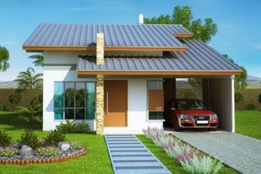 imagem pequenas casas casa lindas simples fachada fachadas pequena
