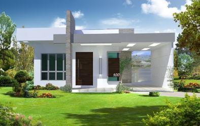 109 Fachadas de Casas Simples e Pequenas Fotos Lindas!