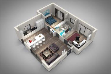 americano estilo casas casa projetos planta projeto paredes dentro plantas aberto drywall modelo madeira fora conceito baixa cozinha decorfacil ambientes