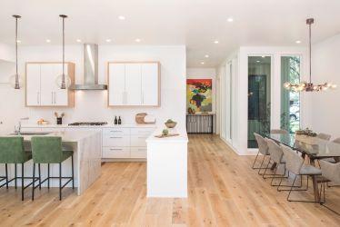 estilo americano casas gable double austin decoracao american kitchen vaulted hgtv hound ceiling cozinha eles conceals atrium devem podem necessidade