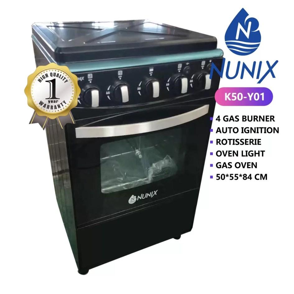 Nunix 4 burner with oven2