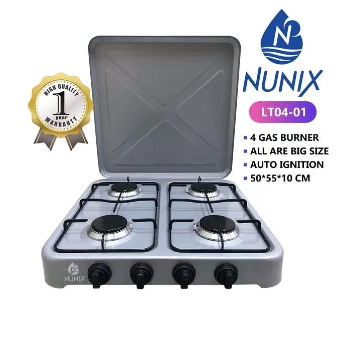 Nunix 4 Gas Burners @ Sh. 4,500