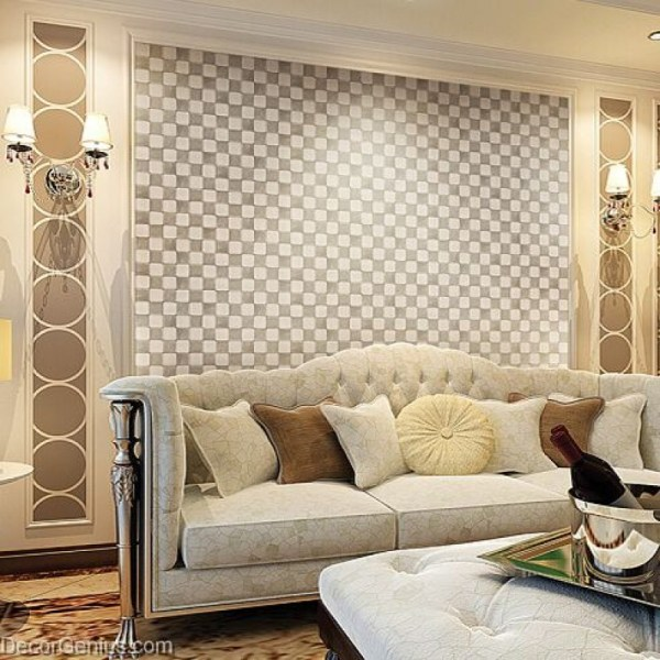 Decorative Wall Tiles Living Room