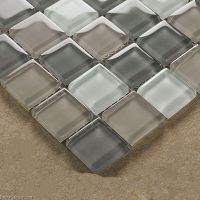 Crystal Floor Tile Hot Sale Glass Mosaic Kitchen ...