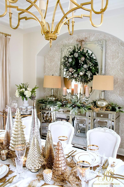 Pinterest Christmas Dining Room Decor Novocom Top