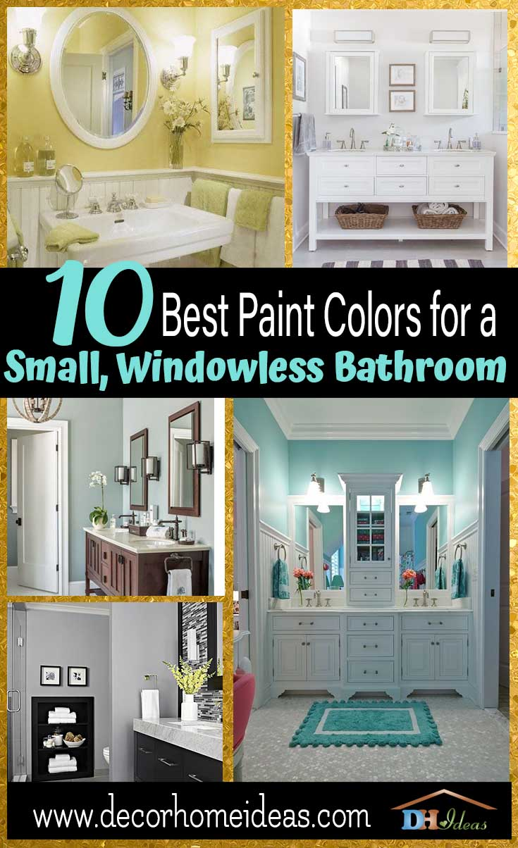 Bathroom Paints Paint Color For Bathroom With No Windows Euffslemani