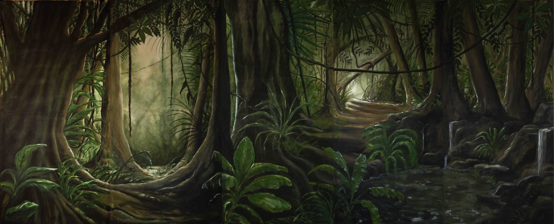 Jungle decor  DECOR HUREN