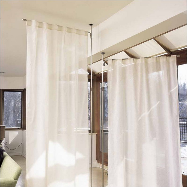 Beautiful And Unique Room Divider Curtains (11)