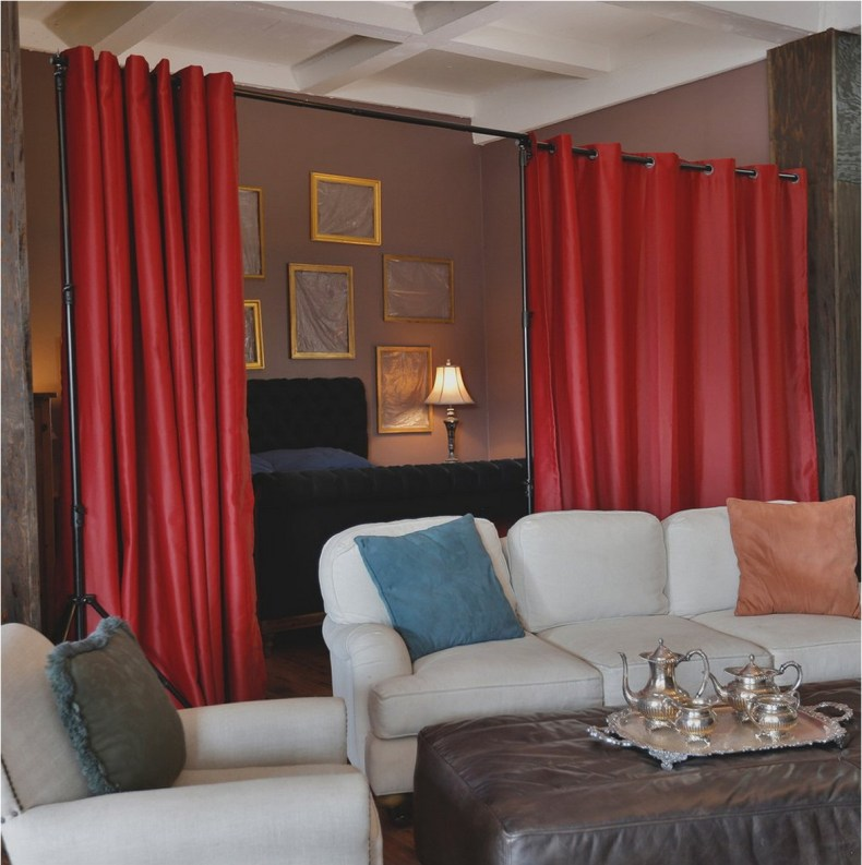 Beautiful And Unique Room Divider Curtains (14)