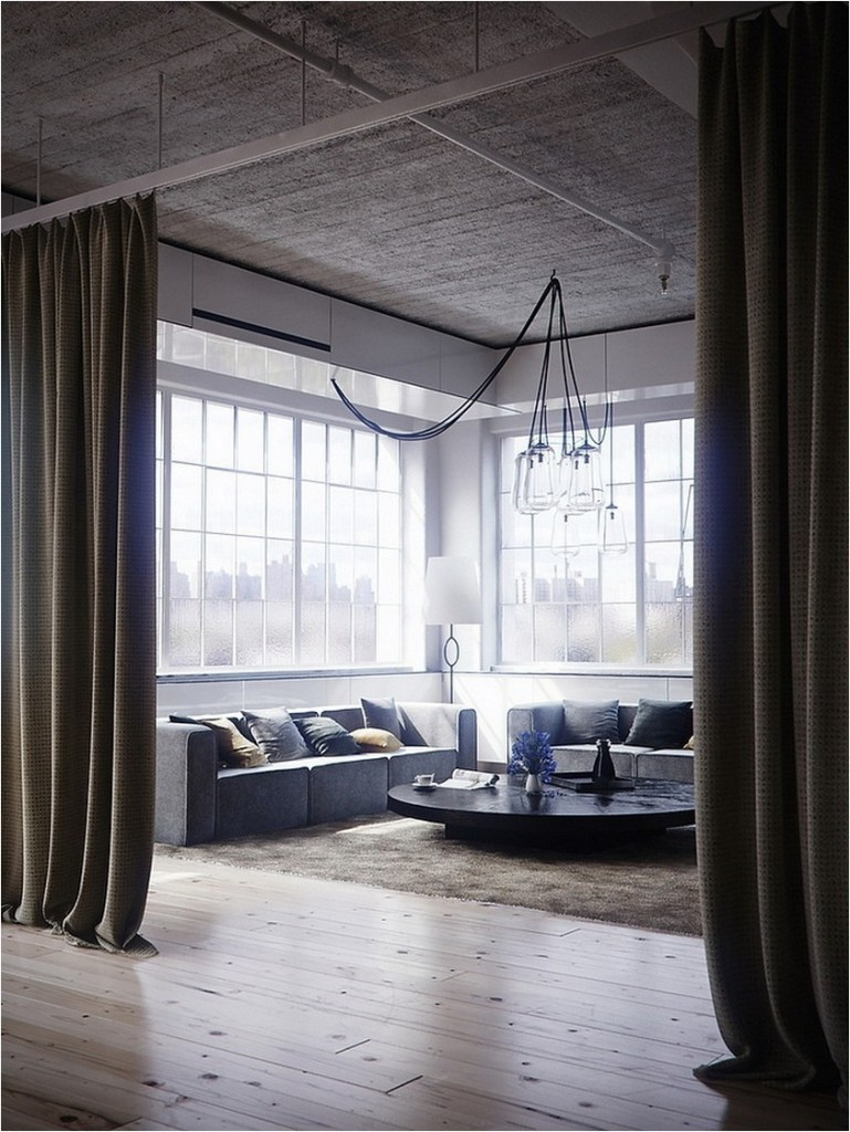 Beautiful And Unique Room Divider Curtains (6)
