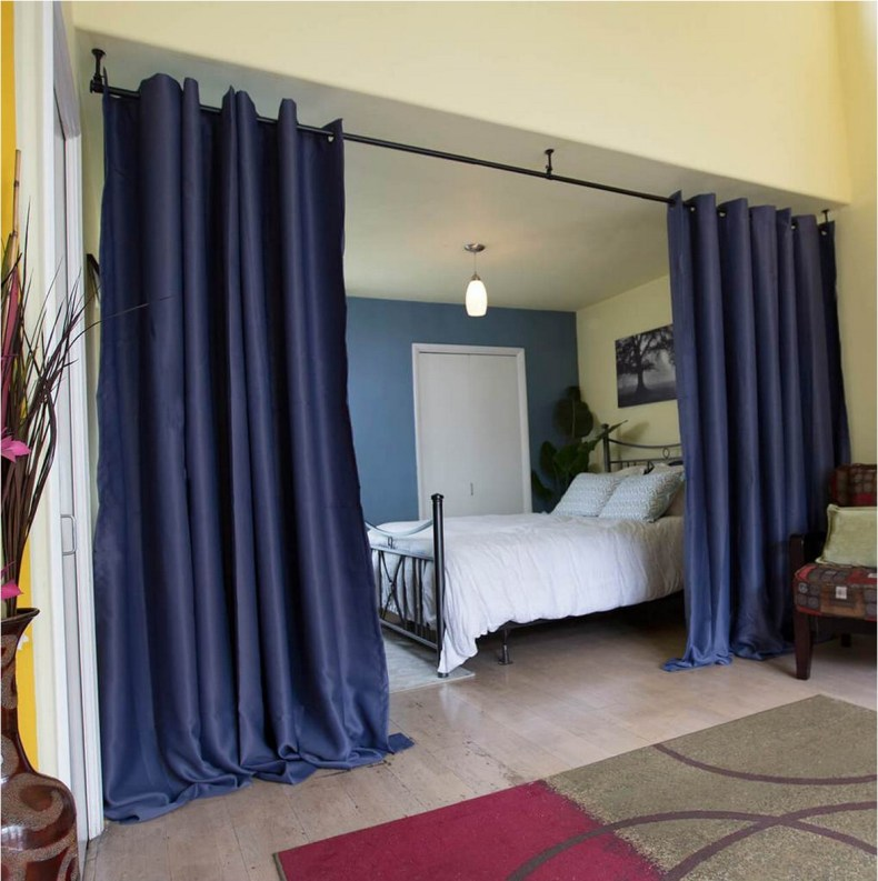 Beautiful And Unique Room Divider Curtains (75)