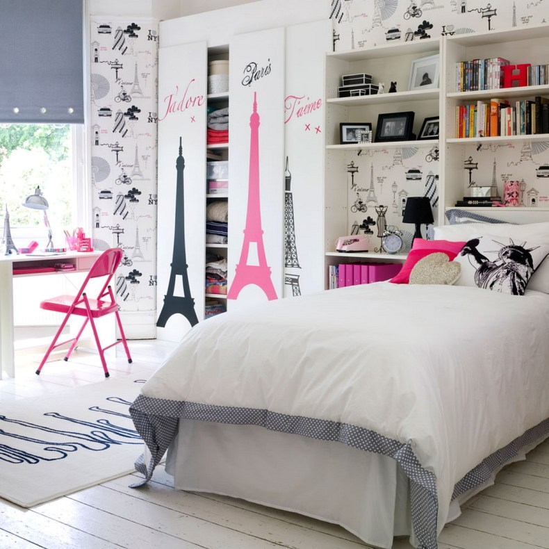 Girls Bedroom Ideas Wallpaper Room Designs For Girls
