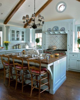 Beautiful French Country Kitchen And Dining Room