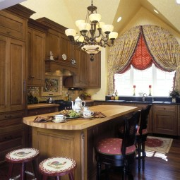 Classic French Country Kitchen Island Designs