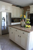 Cream Color Kitchen Cabinets With Granite Countertops (3)