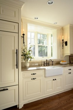 Cream Colored Kitchen Cabinet Ideas Wood Floors