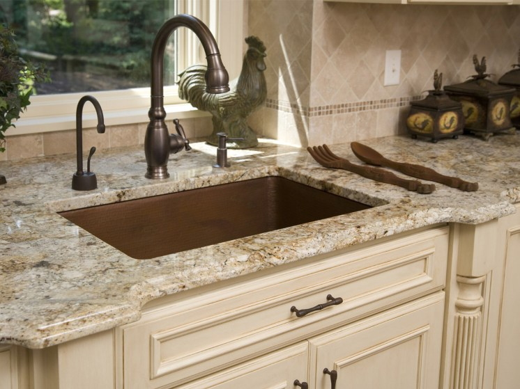 Cream Kitchen Cabinets With Granite Countertops French Style