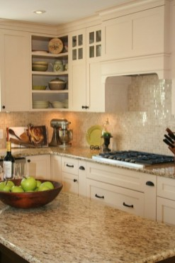 Cream Kitchen Cabinets With Granite Countertops Ideas