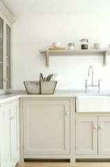 Cream Kitchen Cabinets With Grey Countertops