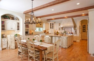 Creative Touch French Country Kitchen And Dining Room