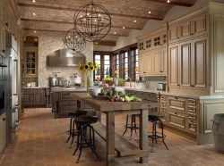 French Country Kitchen And Dining Room
