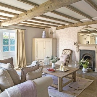 Gorgeous Farmhouse Living Room Decor Ideas And Designs (12)