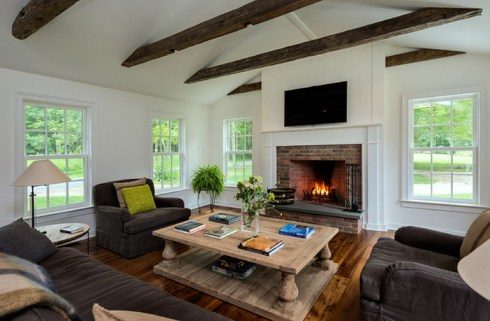 Gorgeous Farmhouse Living Room Decor Ideas And Designs (31)