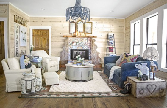 Gorgeous Farmhouse Living Room Decor Ideas And Designs (39)