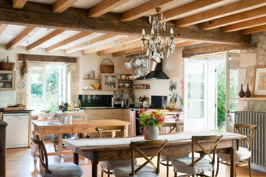 How To Create A French Country Kitchen On A Budget
