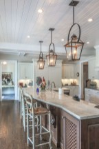 Modern French Country Kitchen And Dining Room Isnald Lighting