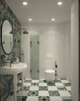 Stunning Bathroom Tiles Ideas for Small Bathrooms (33)