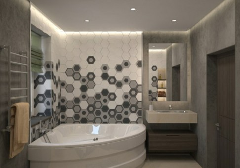 Stunning Bathroom Tiles Ideas for Small Bathrooms (40)