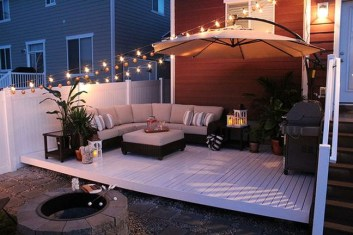 Amazing Decorating Your Deck With Lights