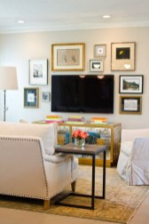 Apartment Living Room Decorating Ideas On A Budget with TV