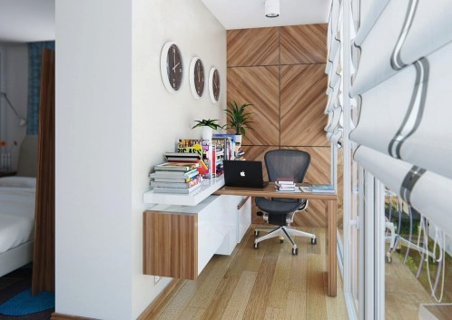 Cool Small Home Office Ideas, Remodel and Decor