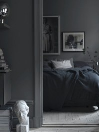 Dark Grey Bedrooms Decorating Design Ideas (10)