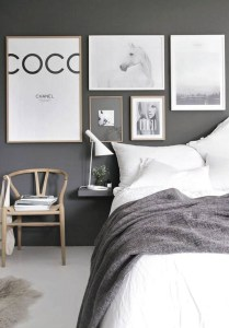 Dark Grey Bedrooms Decorating Design Ideas (13)