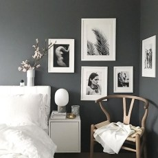 Dark Grey Bedrooms Decorating Design Ideas (21)