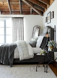 Dark Grey Bedrooms Decorating Design Ideas (27)