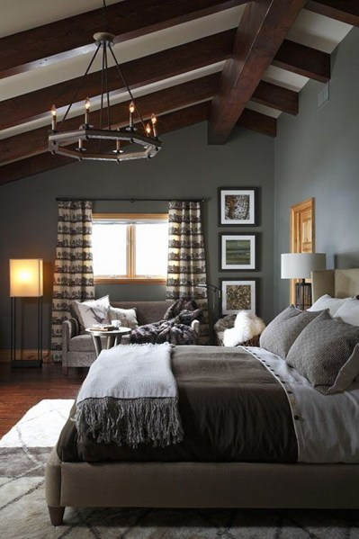 Dark Grey Bedrooms Decorating Design Ideas (36)