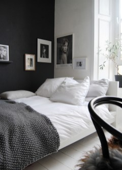 Dark Grey Bedrooms Decorating Design Ideas (38)