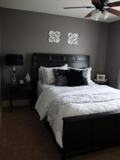 Dark Grey Bedrooms Decorating Design Ideas (43)