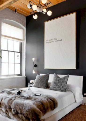 Dark Grey Bedrooms Decorating Design Ideas (47)