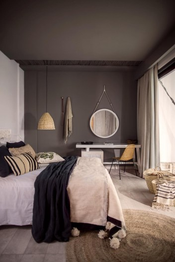 Dark Grey Bedrooms Decorating Design Ideas (49)