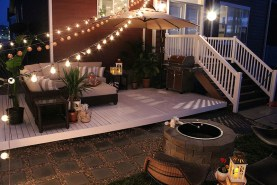 Deck Color Ideas For Dark Brown House