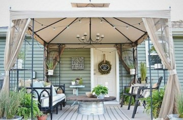 Decorating Ideas For Large Deck