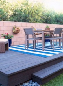 Decorating The Deck With Flowers