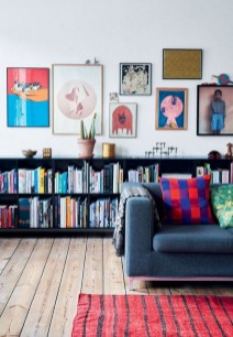 Eclectic And Quirky Living Room Decor Styling Ideas (18)